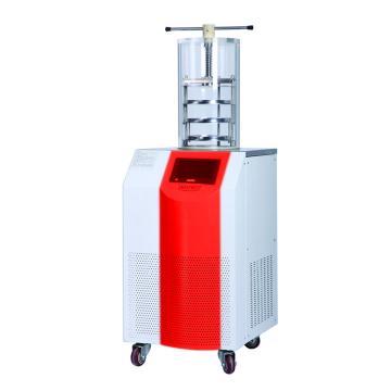 永合创信 实验室立式冻干机,冻干面积0.09㎡,CTFD-12T压盖型
