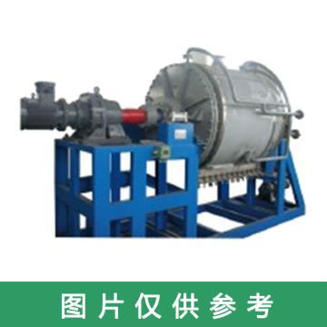 上海缘昌医药卧式反应蒸发浓缩结晶过滤洗涤干燥多功能机