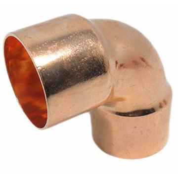 西域推荐 紫铜管90度焊接弯头,28mm