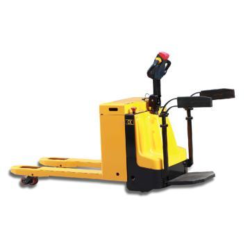 Raxwell 2000Kg全电动搬运车(交流AC型),货叉外宽680长1150高度85-205mm 带踏板&扶手,RMCE0026