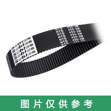 三阪Sables HTD同步带,114-3M-10,10mm宽