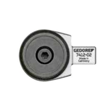 吉多瑞 9*12mm系列棘轮扳手头,3/8方头,7412-01,7686500