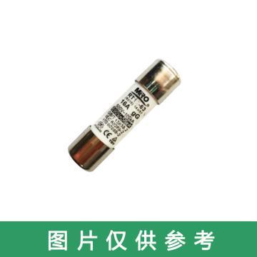 茗熔MIRO 圆筒帽型熔断器 RO14 gG 500V/16A 40个/盒 普通型