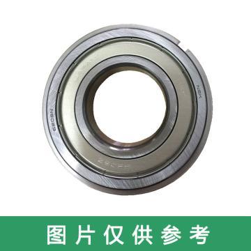 恩斯凯NSK 深沟球轴承,带止动槽和止动环,6206ZZNR