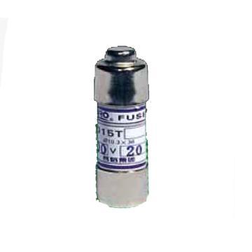 茗熔MIRO 圆筒帽型熔断器 RO15T gG 600V/6A 20个/盒 普通型