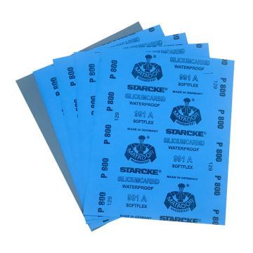 勇士碳化硅水砂纸,2500#,230*280mm,50张/包
