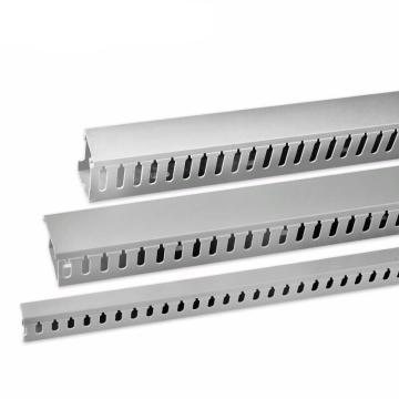 德力西DELIXI 30×15配线槽 银灰色 正料2米,PXC3015SGZD,100根/箱