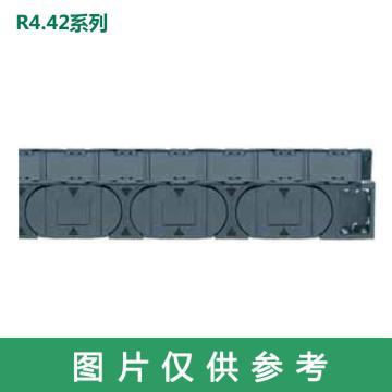 易格斯igus 拖链,E4.1 E4.42系列,内宽100,弯曲半径075,E4.42.10.075.0