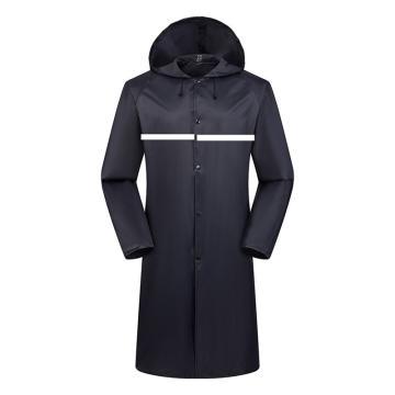 燕王 长款连体雨衣,藏青色 ,5006-XL