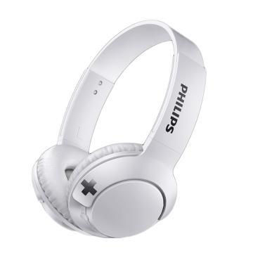 飞利浦(Philips) 头戴式蓝牙耳机 SHB3076BK 白色