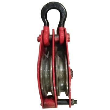 西域推荐 双轮吊环滑车,HQD2-10