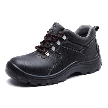 BATA SABRE LOW CUT防砸防刺穿黑色安全鞋,715-60928-35