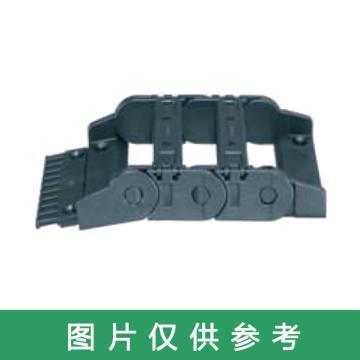 易格斯igus 拖链接头,E2/000|2400/2500系列,内宽25,固定接头,有梳状板,预装A4,2020.12PZB+A4