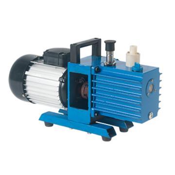 真空泵,直联旋片式,2XZ-0.25,单相,抽气速度:0.25L/S,外形尺寸:403x130x240mm