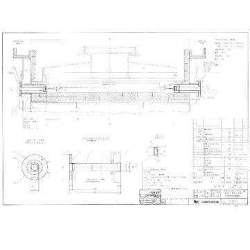 江苏万福 酸洗机组酸洗槽侧壁喷头,型号图纸 176-30201Q5-7