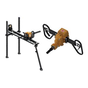 创能 架座支撑气动手持式钻机,ZQSZ-140/4.3S 转速300r/min,煤安证号MED130437