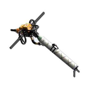 创能 架座支撑气动手持式钻机,ZQSZ-120/3.8S 转速260r/min,煤安证号MED130438