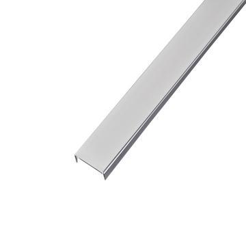 德力西DELIXI 15mm宽线槽盖 银灰色 正料2米,PXC15GSGZD,50根/箱