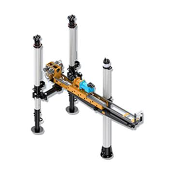 创能 架柱式液压回转钻机 ,ZYJ-500/230,煤安证号MED130432