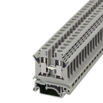 菲尼克斯 直通式接线端子,3004524 UK 6 N,50个/盒