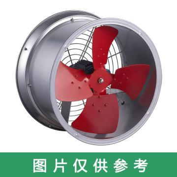 九洲普惠 管道式轴流风机(二边直边口),SF-3.5G-4,0.37KW,220V,1400rpm,配双风网。含木箱包装