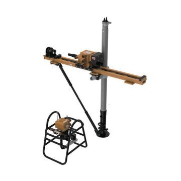 创能 气动架柱式钻机 ,ZQJC-1200/12.0S,煤安证号 MED180198