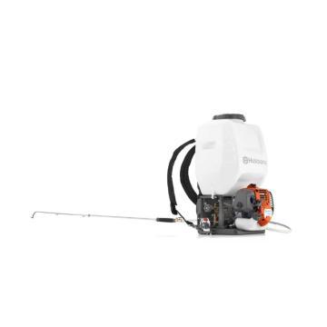 富世华小松 背负式汽油动力喷雾机,15L,0.8KW,323S15,967078301,打药机 汽油喷药机果树消毒机