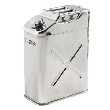 DENIOS 不锈钢液体存储和运输方罐,容积:10L,尺寸:340×170×280mm,型号:180687