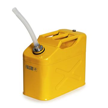 DENIOS 鋼制液體存儲和運輸方罐,容積:20L,尺寸:340×170×470mm,型號:235308