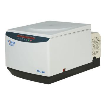 卢湘仪 台式大容量冷冻离心机,最高转速:5000rpm,温度范围-5~+35℃,TDL-5M