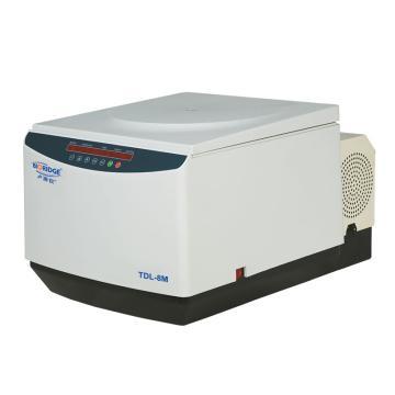 卢湘仪 台式大容量冷冻离心机,最高转速:8000rpm,温度范围:-5~+35℃,最大相对离心力9100xg,TDL-8M