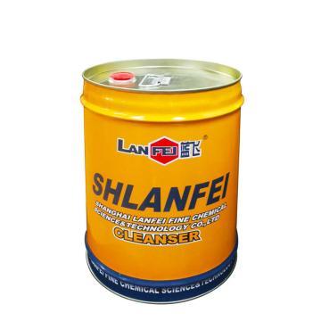 蓝飞重油污清洗剂,Q053-20,20L/桶 单位:桶