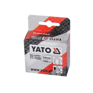 易尔拓Yato 门型钉,14MM 10.6x1.2,YT-7026