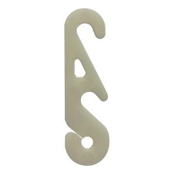 西域推荐 口罩挂钩/口罩伴侣,耳绳调节扣,S型,可调节不勒耳朵神器,50个/包