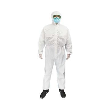 锦禾 一次性防护服,白色,GL-002-2XL