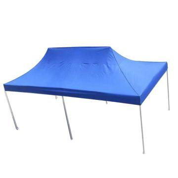 西域推荐 户外遮阳救灾广告帐篷,3×6米,蓝色