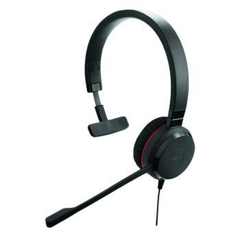 捷波朗(JABRA)EVOLVE 30 USB 单耳话务员耳机 电话客服耳麦降噪可调节音量大小 连电脑