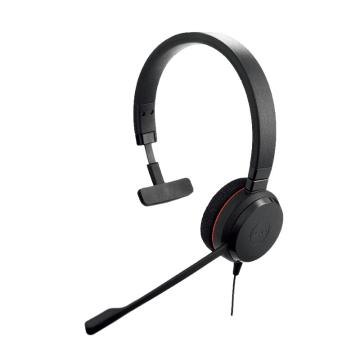 捷波朗(JABRA)EVOLVE 20 USB 单耳话务员耳机 电话客服耳麦降噪可调节音量大小 连电脑