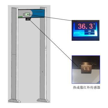 路博环保 门框式红外体温检测仪,LB-103