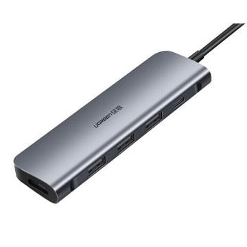 绿联Type-C扩展坞,五合一多功能扩展坞 HDMI款 50209
