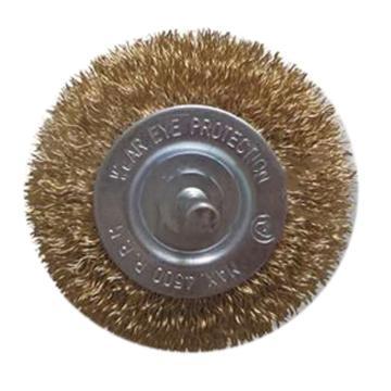 尚弘曲丝杆平刷,直径75mm,柄径6mm,丝径0.3mm,600075-9009,10只/包