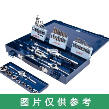 INVOUS 21件套丝锥板牙套装,M3-M12,IS781-81761