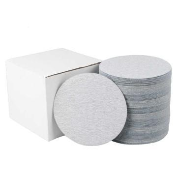 晶士霸 背绒砂碟,2寸 60目 白色,500片/盒