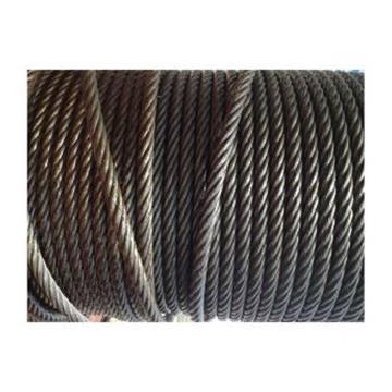 西域推荐 油性钢丝绳,1770MPa 右交互捻 规格:Φ20mm,6*37+FC