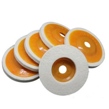 西域推荐 羊毛轮,橙色盖,100*16MM,10个/包