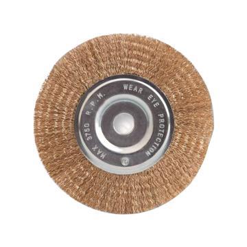 尚弘曲丝孔平刷,直径100mm,孔径12.7mm,丝径0.3mm,600510-9009,10只/包