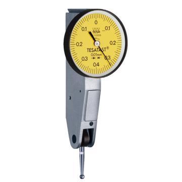 TESA 杠杆千分表0-0.2mm,S18001695(含第三方检测)