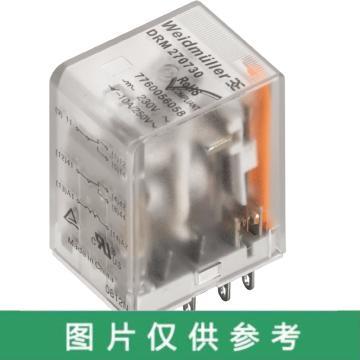 魏德米勒 继电器,7760056091 DRM570220L/4CO/220V DC,20个/包