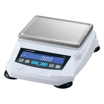亚速旺 电子天平,5kg/0.01g,外校,百分之一天平,AXA50002,C3-6553-06