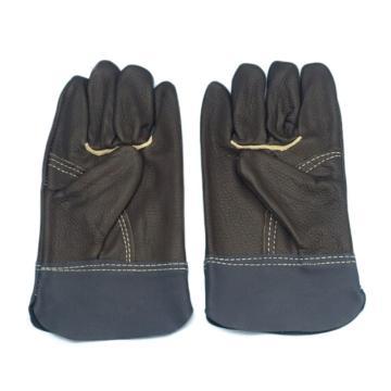 8113820 手套,电焊用全皮,长袖,均码